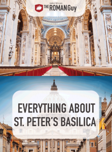 Here's everything you need to know about St. Peter's Basilica and the Vatican! The Roman Guy Italy Tours