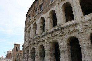 teatro marcello rome jewish ghetto