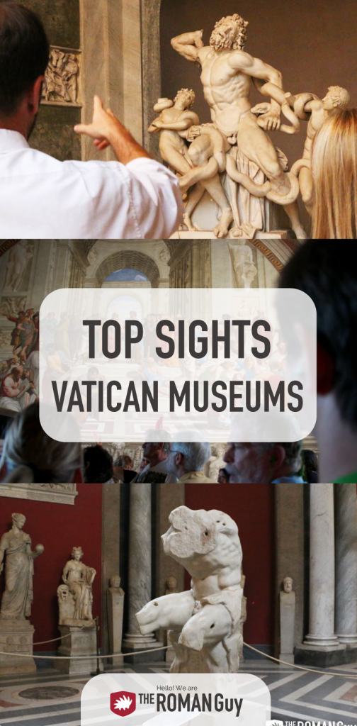 5 Unmissable TOP SIGHTS at the Vatican Museums | The Roman Guy Italy Tours
