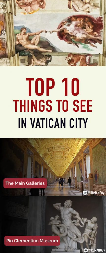 top 10 things to see in Vatican City Pinterest