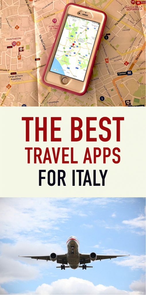 Top Travel Apps for Italy Pinterest