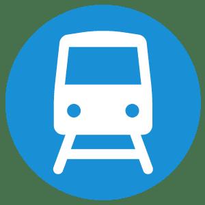 train-metro itinerary