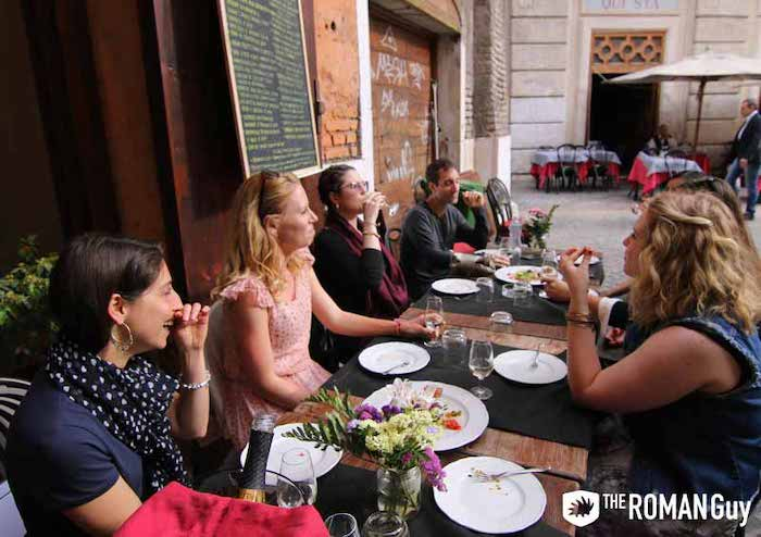 trastevere food tour