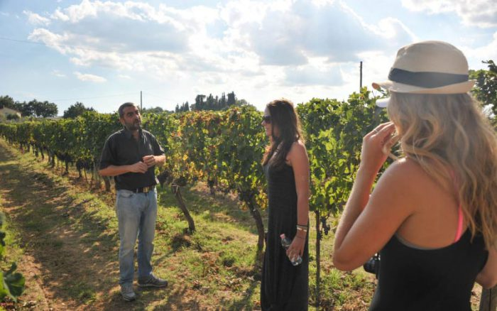 tuscany wine tasting tour