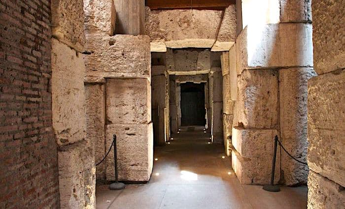 the roman guy underground colosseum