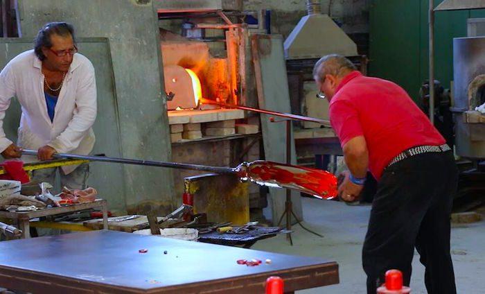 Murrano Glassblowing
