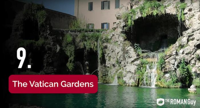 Vatican Gardens in the Vatican Museum