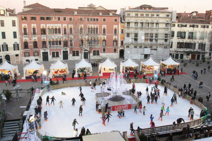 Christmas markets in Italy Venice