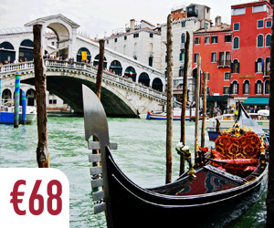 Venice highlights tour gondola and walks through the canals and streets small group