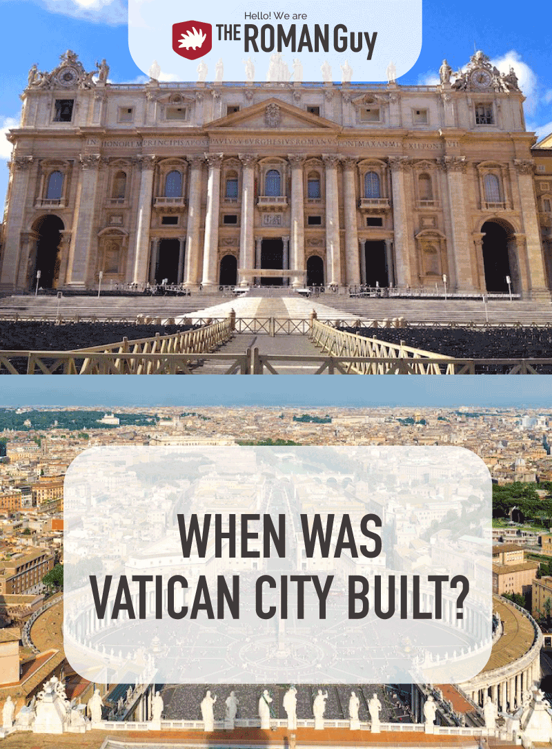 So, when was Vatican City built? In this detailed account from a guide himself, learn about the construction of Vatican City and how it has become the incredible attraction it is today.