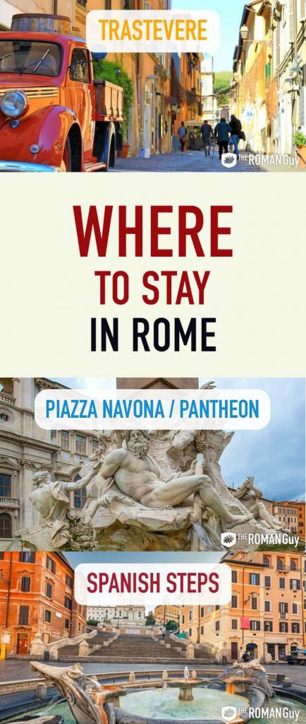 Where to stay in Rome Pinterest