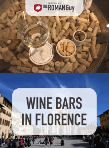 While in Florence, take advantage of all the authentic regional wine that can be found! The Roman Guy Italy Tours