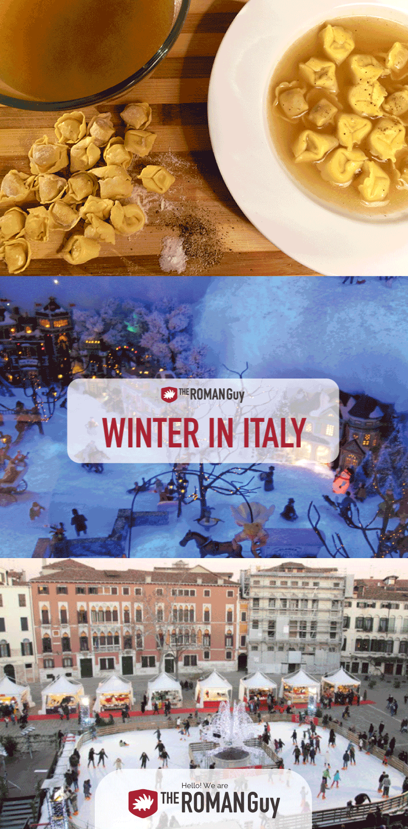 Everything you need to know about traveling to Italy in winter: what to pack, cities to visit, things to do, foods to eat! The Roman Guy Italy Tours